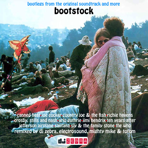 "Bootstock - ""Woodstock Mashup Tribute by DJ Zebra"""
