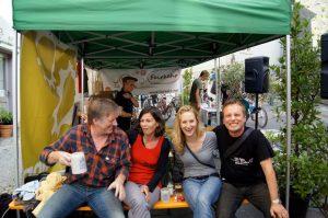 Radiofabrik fairkehrt beim Fest