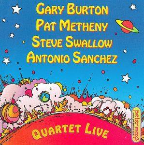 """Gary Burton Quartet - """"Quartet Live!"""""""