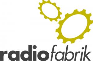 Radiofabrik Logo - English
