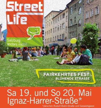 Fairkehrtes Fest in der Ignaz Harrer Straße