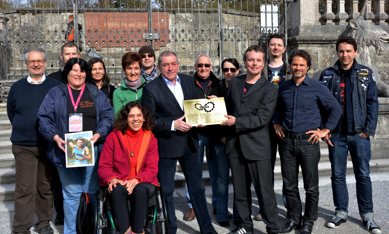 ADA Crowdfunding, mit Bgm. Schaden 2013