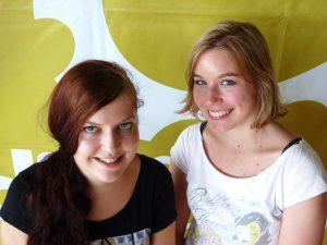 PraktikantInnen im Einsatz - Maria Gruber & Anna Sertl