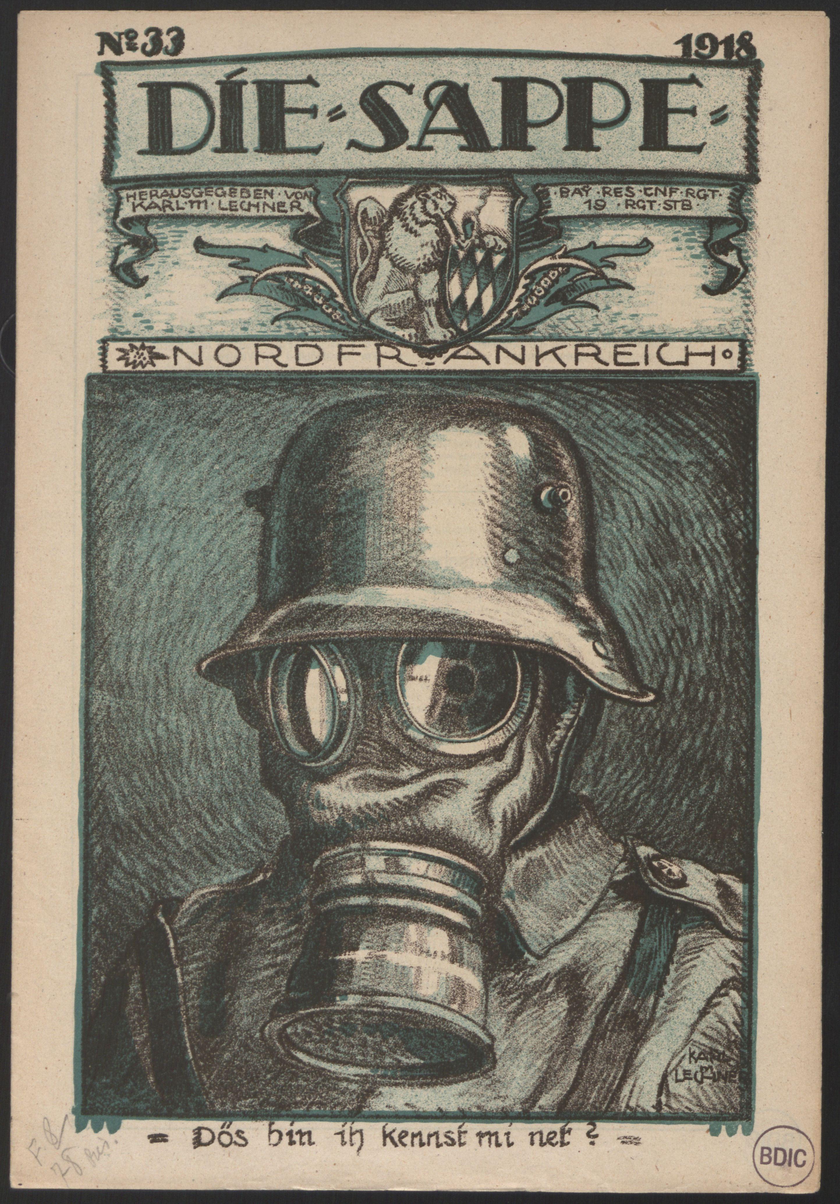 Giftgas im 1. Weltkrieg