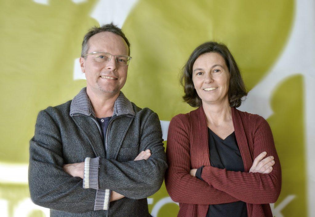 Geschäftsführung 2018 Radiofabrik (vlnr): Alf Altendorf, Eva Schmidhuber
