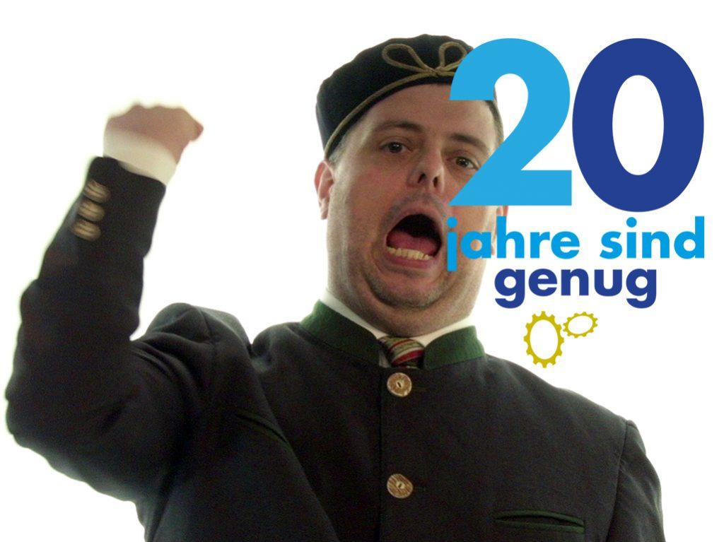 #20JahreSindGenug - Unabhängigkeit