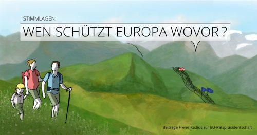 Stimmlagen 2018: Wen schützt Europa wovor?