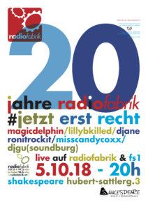 20 Jahre Radiofabrik - #20JahreJetztErstRecht