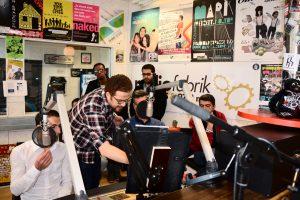Radiomachen als Deutschtraining - Arabisch