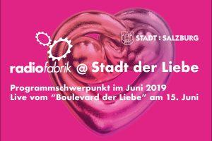 """Radiofabrik live vom """"Boulevard der Liebe"""" am 15. Juni 2019"""