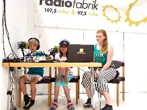Radiofabrik@ Kinderstadt 2019