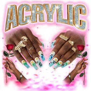 """Leikeli47 - """"Acrylic"""""""