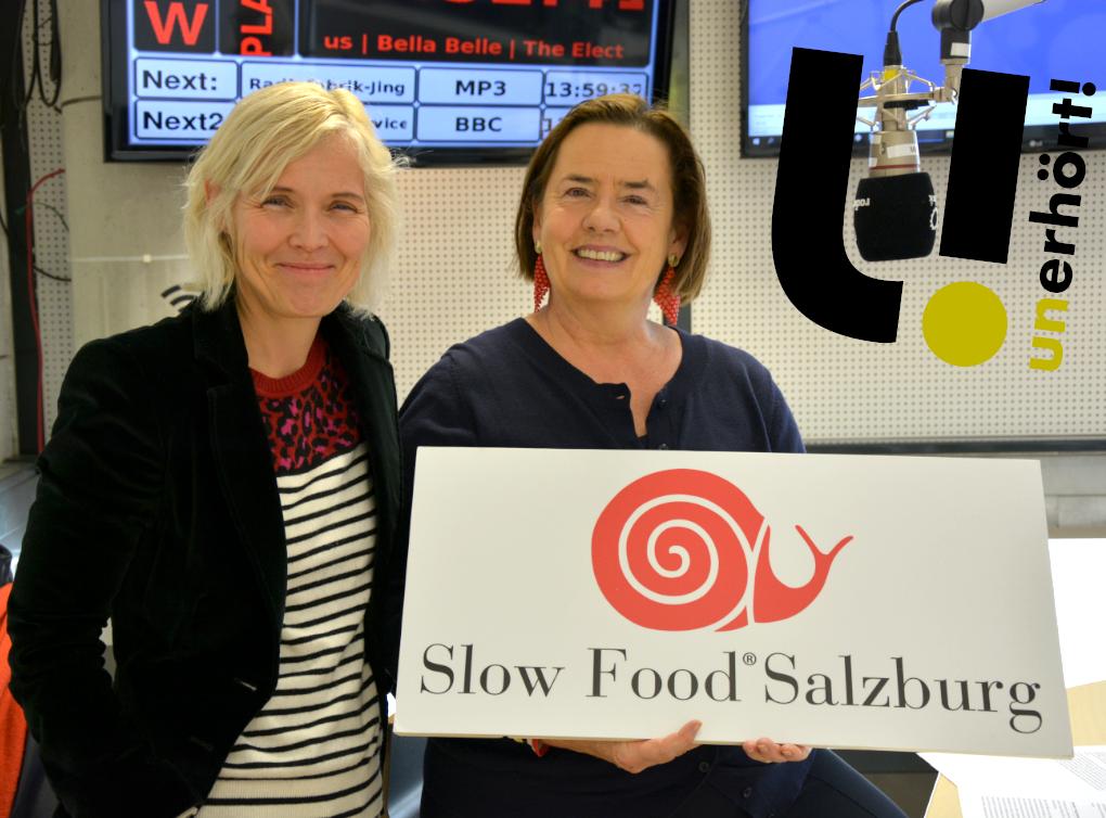 unerhört! Slow Food Salzburg gegründet / Essen im Wandel der Zeit