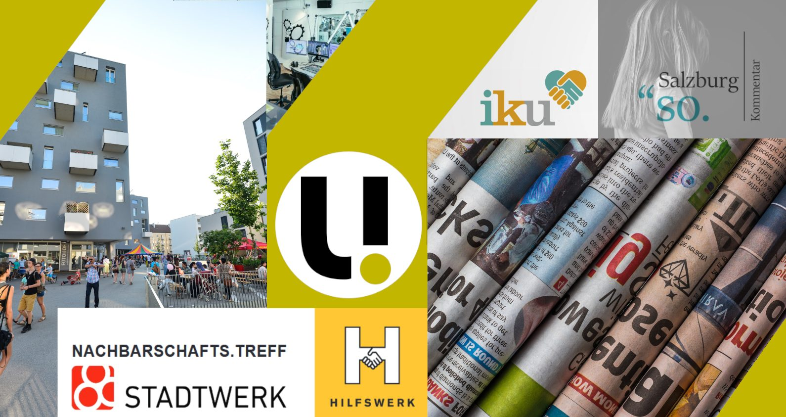 unerhört! Journalismus im Wandel | Verein IKU | Nachbarschafts.Treff Lehen | Wochenkommentar So.